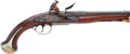 Handguns:Muzzle loading, Private Purchase British Flintlock Officer's Holster Pistol, Circa1780....