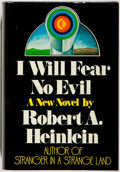 Books:Science Fiction & Fantasy, [Jerry Weist]. Robert A. Heinlein. I Will Fear No Evil. New York: Putnam, [1970]. First edition, first printing....