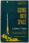 Books:Science Fiction & Fantasy, [Jerry Weist]. Arthur C. Clarke. Going into Space. New York: Harper & Brothers, [1954]. First edition, first pri...