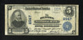 National Bank Notes:Maryland, Denton, MD - $5 1902 Plain Back Fr. 607 The Denton NB Ch. # 2547.This nice-looking note for the grade has one small edg...