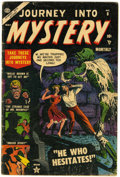 Golden Age (1938-1955):Horror, Journey Into Mystery #8 (Marvel, 1953) Condition: GD+....