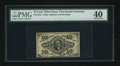 Fractional Currency:Third Issue, Fr. 1255 10c Third Issue PMG Extremely Fine 40....