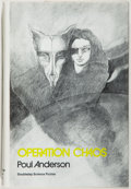 Books:Science Fiction & Fantasy, [Jerry Weist]. Poul Anderson. SIGNED. Operation Chaos. Garden City: Doubleday, 1971. First edition, first printing. ...