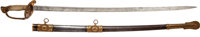 Absolutely Exquisite Quality U.S. M1850 Staff & Field Officer's Sword Presented to Captain Charles Lemmon 3rd Indian...