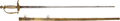 Edged Weapons:Swords, US 'Indian Princess' Militia Officer's Sword With Inscription. ...