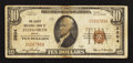 National Bank Notes:Maine, Ellsworth, ME - $10 1929 Ty. 1 The Liberty NB Ch. # 3804. ...