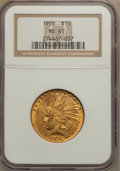 Indian Eagles: , 1926 $10 MS61 NGC. NGC Census: (4000/29482). PCGS Population(2713/24793). Mintage: 1,014,000. Numismedia Wsl. Price for pr...