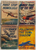 Books:Children's Books, Franklin W. Dixon. Group of Four Ted Scott Flying StoriesBooks, including: First Stop Honolulu; Following t... (Total: 4Items)