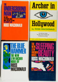 Books:Mystery & Detective Fiction, Ross Macdonald. Group of Four First Editions, One Signed,including: The Blue Hammer; Sleeping Beauty; The UndergroundM... (Total: 4 Items)