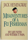 Books:Biography & Memoir, Jack Hemingway. INSCRIBED. Misadventures of a Fly Fisherman. Dallas: Taylor, [1986]. First edition, first printing. ...