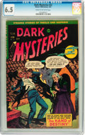 Golden Age (1938-1955):Horror, Dark Mysteries #22 (Master Publications, 1955) CGC FN+ 6.5 Cream tooff-white pages....