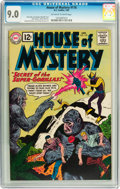 Silver Age (1956-1969):Mystery, House of Mystery #118 (DC, 1962) CGC VF/NM 9.0 Off-white to whitepages....