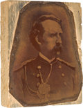 Miscellaneous:Ephemera, George Armstrong Custer: Early Copper Printing Plate....