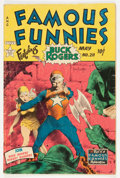 Golden Age (1938-1955):Science Fiction, Famous Funnies #211 (Eastern Color, 1954) Condition: GD....