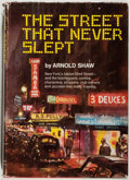 Books:Americana & American History, Arnold Shaw. INSCRIBED. The Street That Never Slept: New York'sFabled 52d St. New York: Coward, McCann & Geoghegan,...