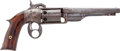 "Handguns:Muzzle loading, Very Rare Iron Frame 2nd Model .36 Caliber Percussion Savage""Figure Eight"" Revolver...."