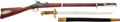 "Long Guns:Muzzle loading, Percussion .58 Caliber U.S. Model 1863 Remington Contract or""Zouave"" Rifle.... (Total: 2 Items)"