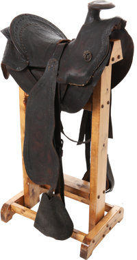 George Armstrong Custer: His Personal Cavalry Saddle from the Indian Wars Period, with Terrific Provenance