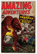 Silver Age (1956-1969):Horror, Amazing Adventures #3 (Marvel, 1961) Condition: FN+....