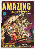 Golden Age (1938-1955):Science Fiction, Amazing Adventures #3 (Ziff-Davis, 1951) Condition: FN/VF....
