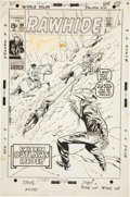 Original Comic Art:Covers, Larry Lieber The Rawhide Kid #89 Cover Original Art (Marvel,1971)....