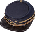Militaria:Uniforms, Indian Wars Period Missouri Cavalry Officer's Kepi...