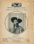 Books:Americana & American History, [William F. Cody]. Buffalo Bill's Wild West and Congress ofRough Riders of the World....