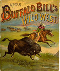 Books:Americana & American History, [William F. Cody]. A Peep At Buffalo Bill's Wild West....