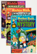 Bronze Age (1970-1979):Cartoon Character, Richie Rich Vaults of Mystery File Copy Group (Harvey, 1975-82) Condition: Average NM-.... (Total: 136 Comic Books)
