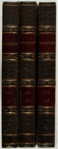 Books:Literature Pre-1900, [Sir Walter Scott]. Woodstock; or, The Cavalier. Edinburgh:Archibald Constable, 1826. First edition, first printing... (Total:3 Items)