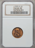 Lincoln Cents: , 1929-D 1C MS64 Red NGC. NGC Census: (174/84). PCGS Population(264/221). Mintage: 41,730,000. Numismedia Wsl. Price for pro...