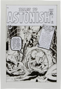 Original Comic Art:Covers, Angel Gabriele (after Jack Kirby) Tales to Astonish #27Cover Re-Creation Original Art (2009)....