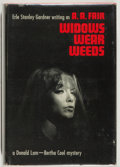 Books:Mystery & Detective Fiction, [Erle Stanley Gardner]. A. A. Fair. INSCRIBED. Widows WearWeeds. New York: Morrow, 1966. First edition, first print...