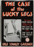 Books:Mystery & Detective Fiction, Erle Stanley Gardner. The Case of the Lucky Legs. New York:Morrow, 1934. Second printing. Publisher's binding w...