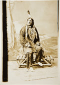 Photography:Cabinet Photos, Sioux Leader Chief Gall: A Fine Nineteenth Century D. F. Barry Photograph. ...
