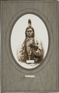 Photography:Cabinet Photos, Sioux Leader Chief Low Dog: A Fine D. F. Barry Photograph....
