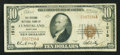 National Bank Notes:Maryland, Cumberland, MD - $10 1929 Ty. 1 The Second NB Ch. # 1519. ...