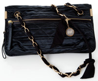 Heritage Vintage: Lanvin Black Quilted Satin Amalia MM Bag