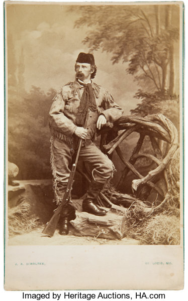 69ddcd4c31 George Armstrong Custer  Albumen Photograph by James