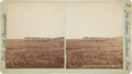 Photography:Stereo Cards, Guard Mount at Fort Lincoln, Dakota Territory: Stereoview by F. Jay Haynes, Circa 1877....