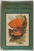 Books:Natural History Books & Prints, Denis L. Fox. Animal Biochromes and Structural Colours. Cambridge: University, 1953. First edition. With dust ja...
