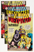 Silver Age (1956-1969):Horror, Tales of the Unexpected #71-79 and 82 Group (DC, 1962-64)....(Total: 10 Comic Books)