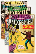 Silver Age (1956-1969):Horror, Tales of the Unexpected Group (DC, 1959-60).... (Total: 3 ComicBooks)