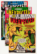 Silver Age (1956-1969):Horror, Tales of the Unexpected Group (DC, 1961-62) Condition: AverageVF-.... (Total: 4 Comic Books)