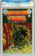 Bronze Age (1970-1979):Horror, Swamp Thing #9 (DC, 1974) CGC VF 8.0 Off-white to white pages....