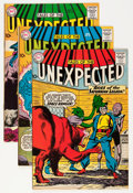 Silver Age (1956-1969):Horror, Tales of the Unexpected #54 and 57-59 Group (DC, 1960-61)....(Total: 4 Comic Books)