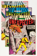 Silver Age (1956-1969):Horror, Tales of the Unexpected Group (DC, 1958-60).... (Total: 5 ComicBooks)