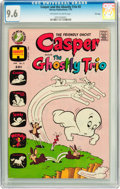 Bronze Age (1970-1979):Cartoon Character, Casper and the Ghostly Trio #2 File Copy (Harvey, 1973) CGC NM+ 9.6Off-white to white pages....