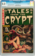 Golden Age (1938-1955):Science Fiction, Tales From the Crypt #32 Northford pedigree (EC, 1952) CGC VF 8.0Cream to off-white pages....