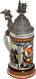 Military & Patriotic:WWI, Baden Field Artillery Regiment 30, Rastatt 1898/1900 Regimental Reservist Stein....